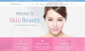 skin beauty salon spa wordpress theme