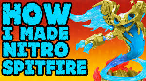 spitfire skylanders. how i made the nitro spitfire leak - skylanders superchargers youtube e