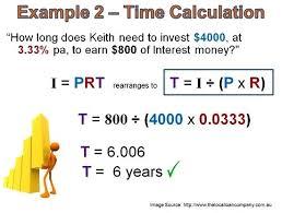 Interest Calculator Math Calculate Simple Interest Business Math