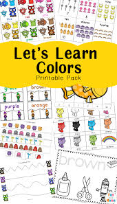 Select from 35429 printable crafts of cartoons, animals, nature, bible and many more. Learning Colors With Fun Color Themed Printable Worksheets Fun With Mama
