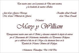 formato de invitaciones de boda ejemplos tarjetas de invitacion para bodas con citas biblicas en