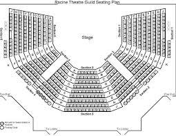 Seating Chart Racine Theatre