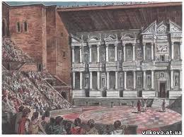 Реферат на тему Театр і література епохи ренесансу Марта  ТЕАТР від грец theatron місце для видовищ видовище рід мистецтва специфічним засобом вираження якого є сценічна дія що виникає в процесі гри актора