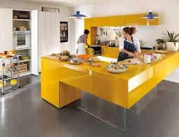 contemporary kitchen colors. Exellent Colors Yellow Kitchen Colors 22 Bright Modern Design And Of Contemporary  On