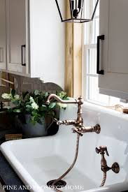 a new high back sink and faucet in our