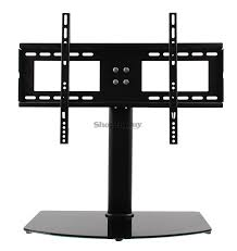 universal tv stand base wall mount for 37 55 flat screen tvs free in us