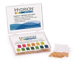 Chart Stik Label Ph Strips Hydrion Dip Stiks Short Range 0 0 6 0 Vial Of