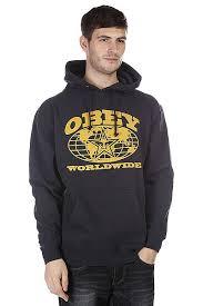 Купить <b>толстовку</b> кенгуру <b>Obey Worldwide</b> Navy в интернет ...