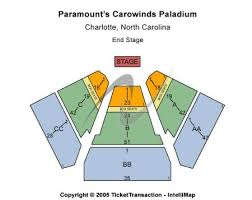 Carowinds Paladium Tickets And Carowinds Paladium Seating