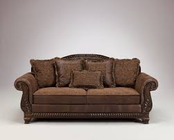 Traditional Accent Chairs Living Room Ashley Bradington Truffle Living Room Set For Bradington Truffle