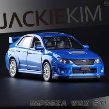 2011 subaru impreza 1 36 scale high simulation coupe metal pull back wrc sti cars 2 open door model car toys in casts toy vehicles from