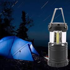 Mini Portable Led Tent Light Stretch Outdoor Camping Lantern Hiking