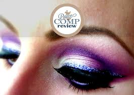 purple white ballroom dance makeup tutorial