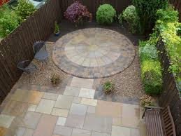 Small Picture small patio Natural stone paving to Garden Back Patio