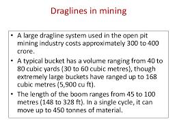 dragline machine at dhudhichua project singrauli schematic diagram of dragline
