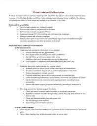 Sales Assistant Job Description Associate Cover Letter Retail