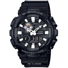 "oversized watches large oversize watches watch shop comâ""¢ mens casio g shock alarm chronograph watch gax 100b 1aer"