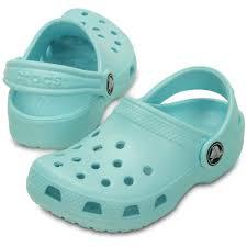 Croc Shoe Decorations Crocs Kids Classic Shoe Ice Blue The Original Kids Croc Shoe