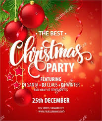 Christmas Party Card Template