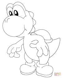 Small Picture Yoshi coloring pages Free Coloring Pages