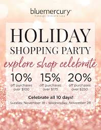 Holiday Shopping Party At Bluemercury