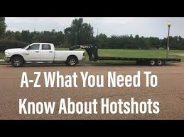 Everything you need to know to start HOTSHOT business in 1 video ...