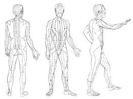 Chi Meridians Chart Acupressure Points And Tai Chi Energy Arts