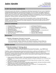 A resume template for a Client Relations Coordinator. You can download it  and make it