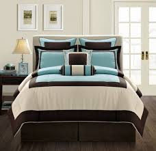 Brown And Aqua Bedroom Ideas