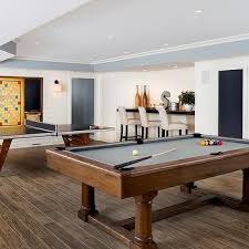 game room lighting. Game Room With Pool Table And Ping Pong Lighting