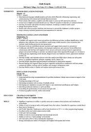 Pre Made Resume Best Of Simulation Engineer Resume Samples