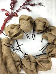 learn how to make a burlap wreath on the creativelive blog blog creativelive