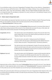 the cancellation or alteration of an order must be sent to the rabobank puter via the