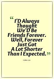 60 Saddest Goodbye Friendship Quotes Heart Broken Leaving Sayings