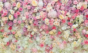 Beautiful Flowers Pastel Colours Fotobehang Behang Bestel Nu Op