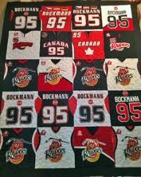 Football jersey quilt | Quilts | Pinterest | Jersey quilt, Craft ... & Custom made Hockey Jersey quilt. Visit quiltedmemories.ca Adamdwight.com