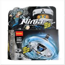 Bộ xếp hình Decool 2092 Con quay lốc xoáy Ninjago của Zane - 69 chi tiết •  Đang giảm giá tháng 8/2020