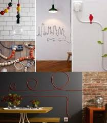 12 Smart DIY Ideas To Hide The Wires in The Wall Room - http:/