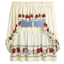 Kitchen Curtains For Black And White Kitchen Curtains