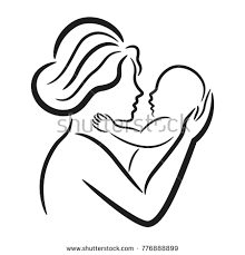 How To Draw A Mother Holding A Baby Under Fontanacountryinn Com