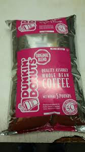 Get the famous dunkin donuts flavor at home or in the office dunkin donuts original blend coffee is a true american classic! Amazon Com Dunkin Donuts Regular 5 Lbs Whole Coffee Bean 2 3 Days Shipping Kitchen Dining