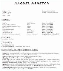 technical theatre resume templates theatre resume template sample child actors resume template kids