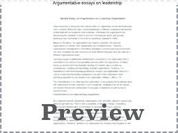 Leadership Sample Essay Essays On Questions Komphelps Pro