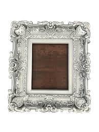 8x10 silver frame style baroque frame