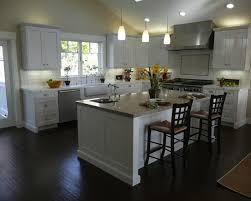 image of best color furniture for dark hardwood floors kitchen
