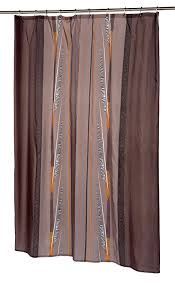 com carnation home fashions catherine extra long printed fabric shower curtain 70 inch by 84 inch home kitchen