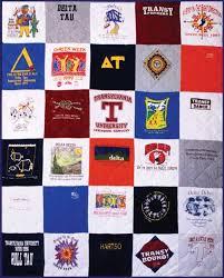 T-shirt Quilt - Campus Quilt Co & T-shirt Quilt Standard Style Adamdwight.com