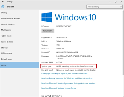How To Upgrade From A 32 Bit To 64 Bit Version Of Windows 10