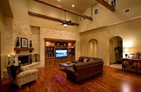 Attractive Sprawling Tuscan Ranch Mediterranean Living Room Great Pictures