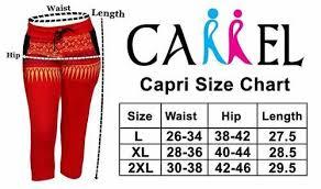 Cotton Hosiery Women Printed Capri 3352